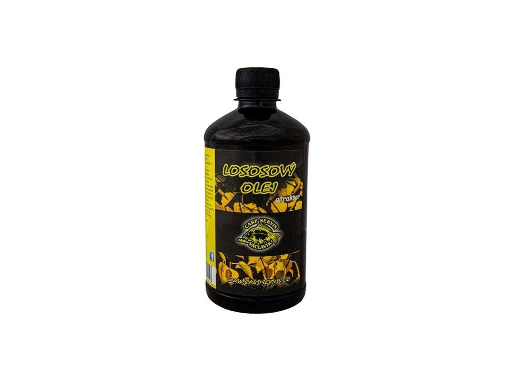 Carp Servis Václavík Lososový olej - 500 ml  + Sleva 10% za registraci