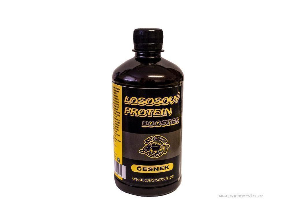 Carp Servis Václavík Lososový protein booster - 500 ml/Česnek  + Sleva 10% za registraci