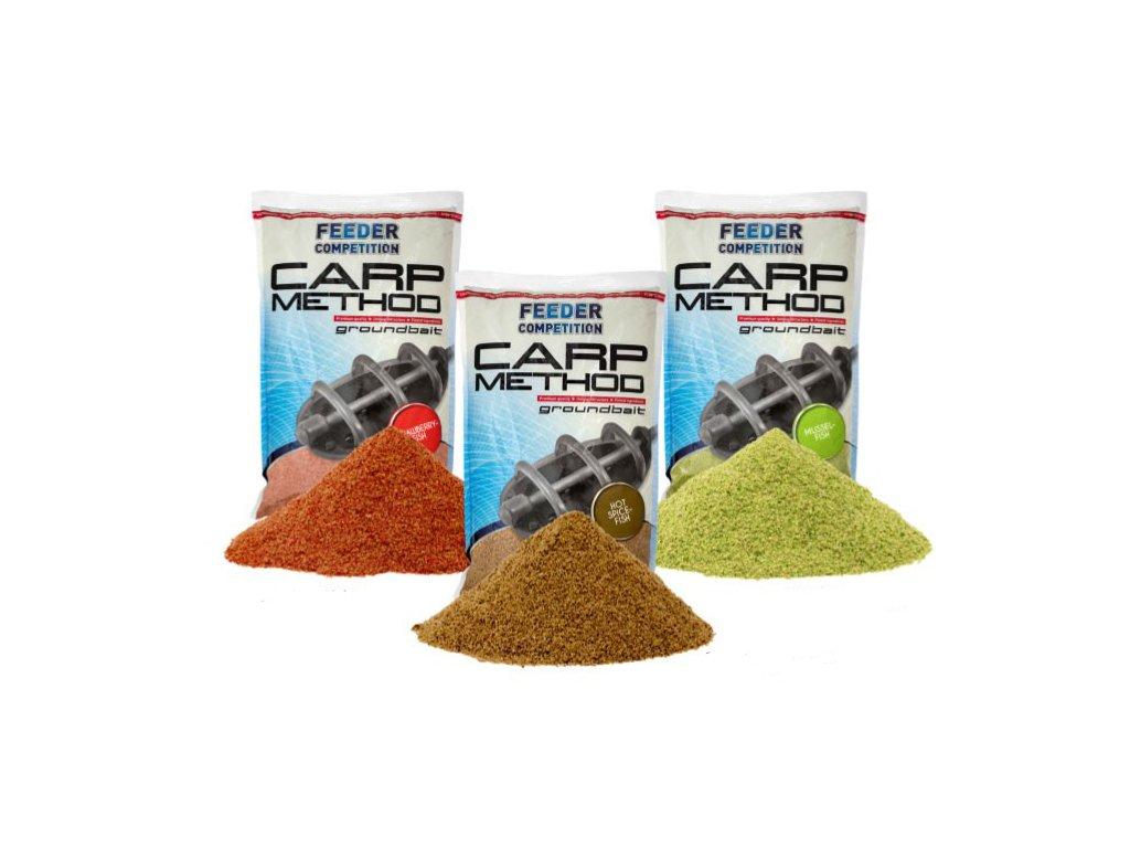 Carp Zoom Carp Method - 1 kg/Jahoda-Ryba  + Sleva 10% za registraci