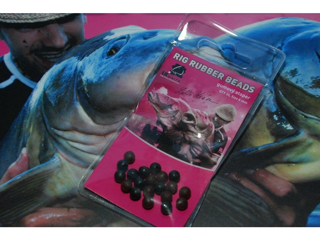 LK Baits gumové stopery Rig Rubber Beads  + Sleva 10% za registraci