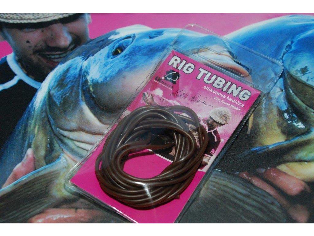 LK Baits hadička Rig Tubing 2m Camo Brown  + Sleva 10% za registraci