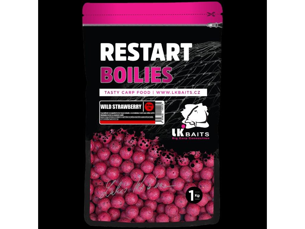 LK Baits ReStart Boilies Wild Strawberry  + Sleva 10% za registraci