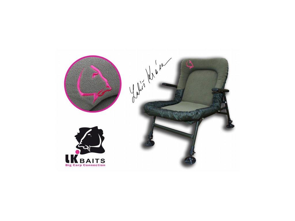 LK Baits křeslo Camo De-Luxe Chair  + Sleva 10% za registraci
