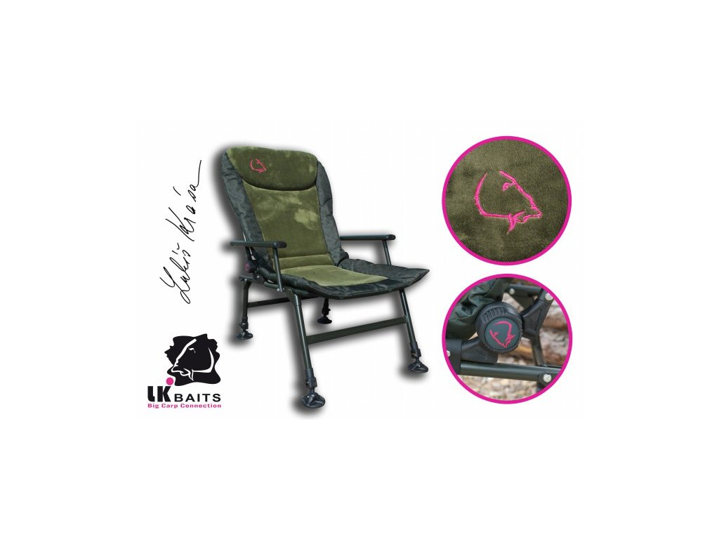 LK Baits křeslo Camo Arm Chair  + Sleva 10% za registraci