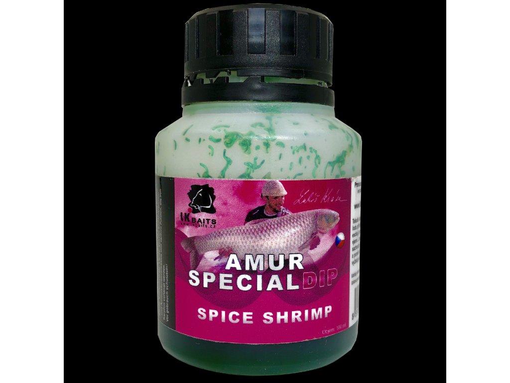 LK Baits Amur Special Spice Shrimp Dip 100ml  + Sleva 10% za registraci