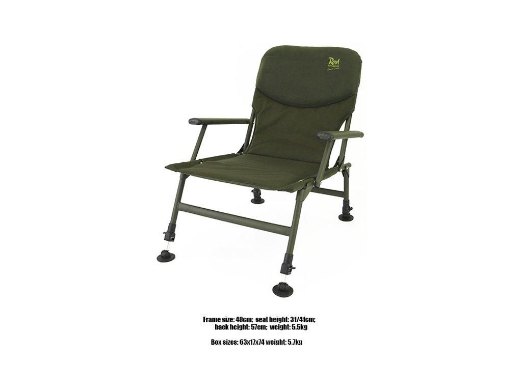 RH křeslo Guest Chair  + Sleva 10% za registraci