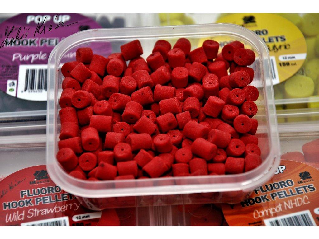 LK Baits Fluoro POP-UP Hook Pellets Wild Strawberry 150ml, 8mm  + Sleva 10% za registraci