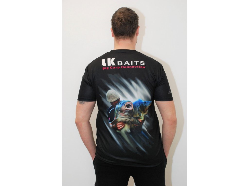 LK Baits triko T-shirt Big Ones Lukas Krasa  + Sleva 10% za registraci