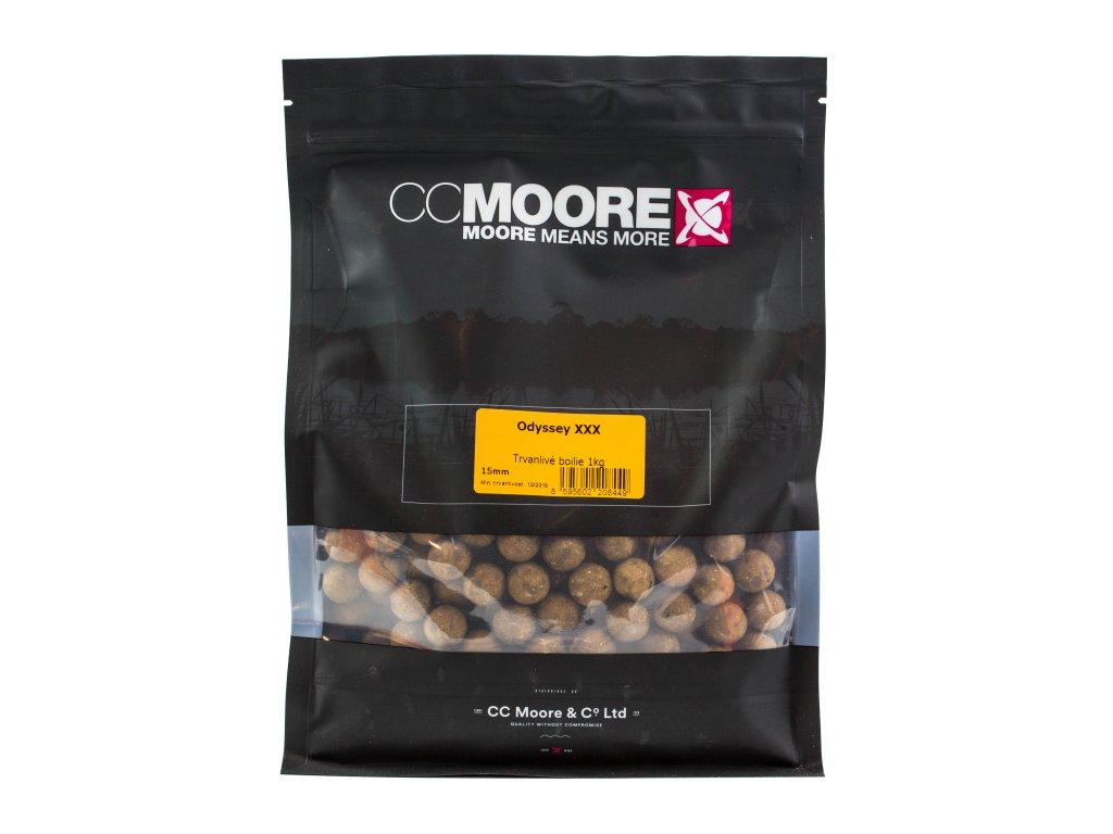 CC Moore Odyssey XXX - Trvanlivé boilie 15mm 1kg  + Sleva 10% za registraci