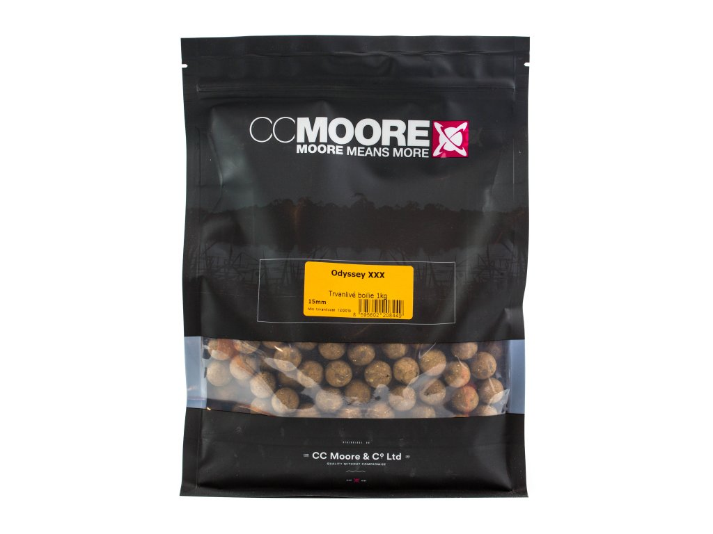 CC Moore Odyssey XXX - Trvanlivé boilie 24mm 1kg  + Sleva 10% za registraci