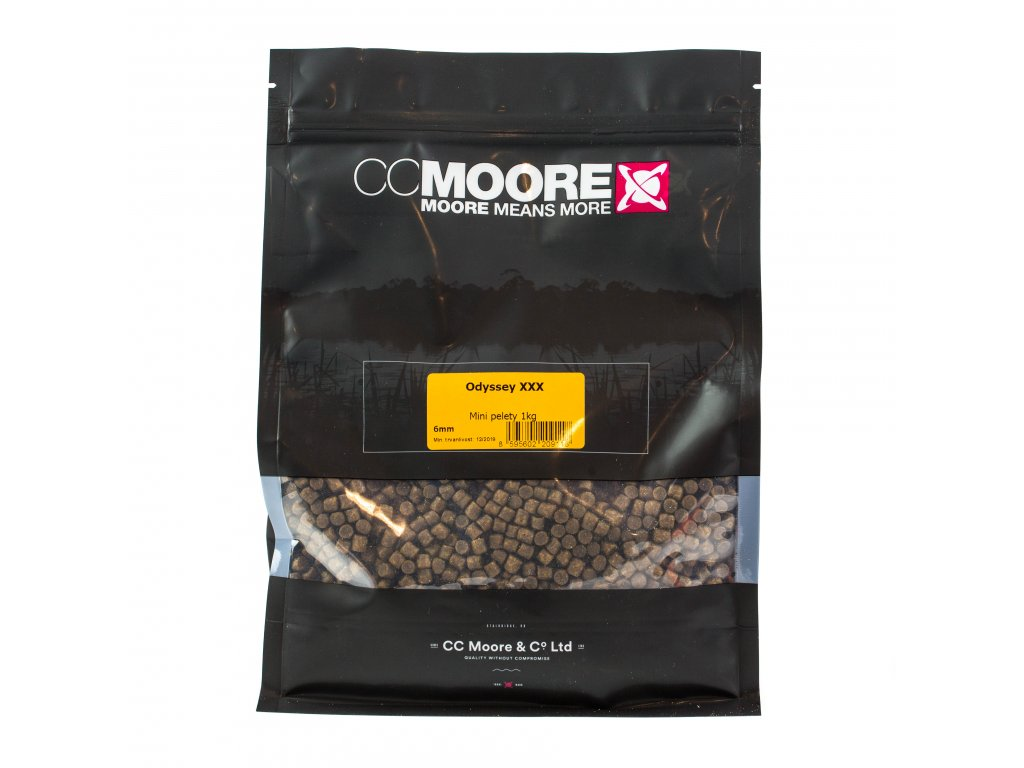 CC Moore Odyssey XXX - Mini pelety 6mm 1kg  + Sleva 10% za registraci