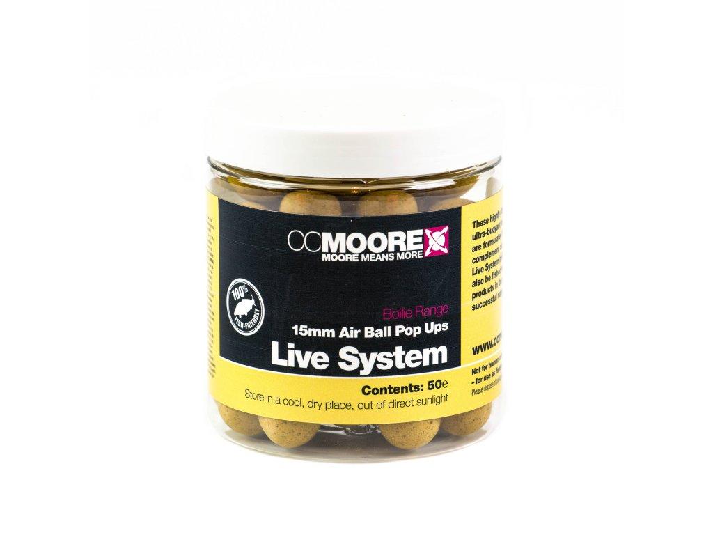 CC Moore Live system - Plovoucí boilie 15mm 50ks  + Sleva 10% za registraci