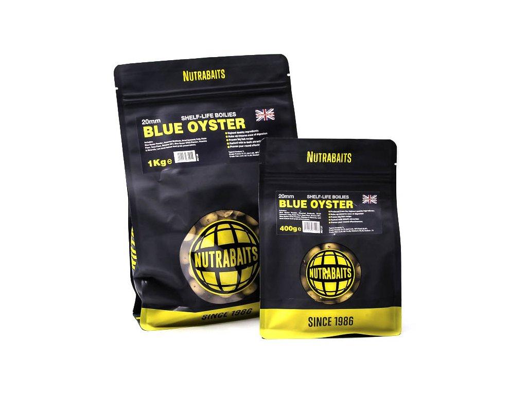 Nutrabaits trvanlivé boilie 400g - Blue Oyster 15mm  + Sleva 10% za registraci