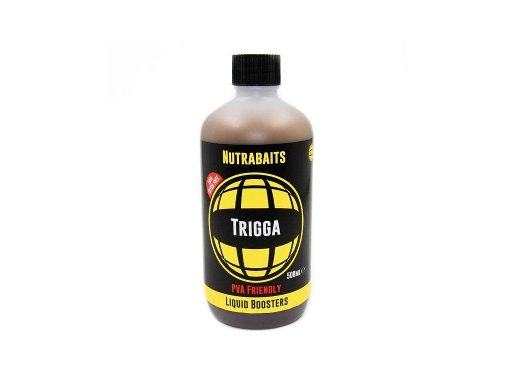 Nutrabaits tekuté boostery - Trigga 500ml  + Sleva 10% za registraci