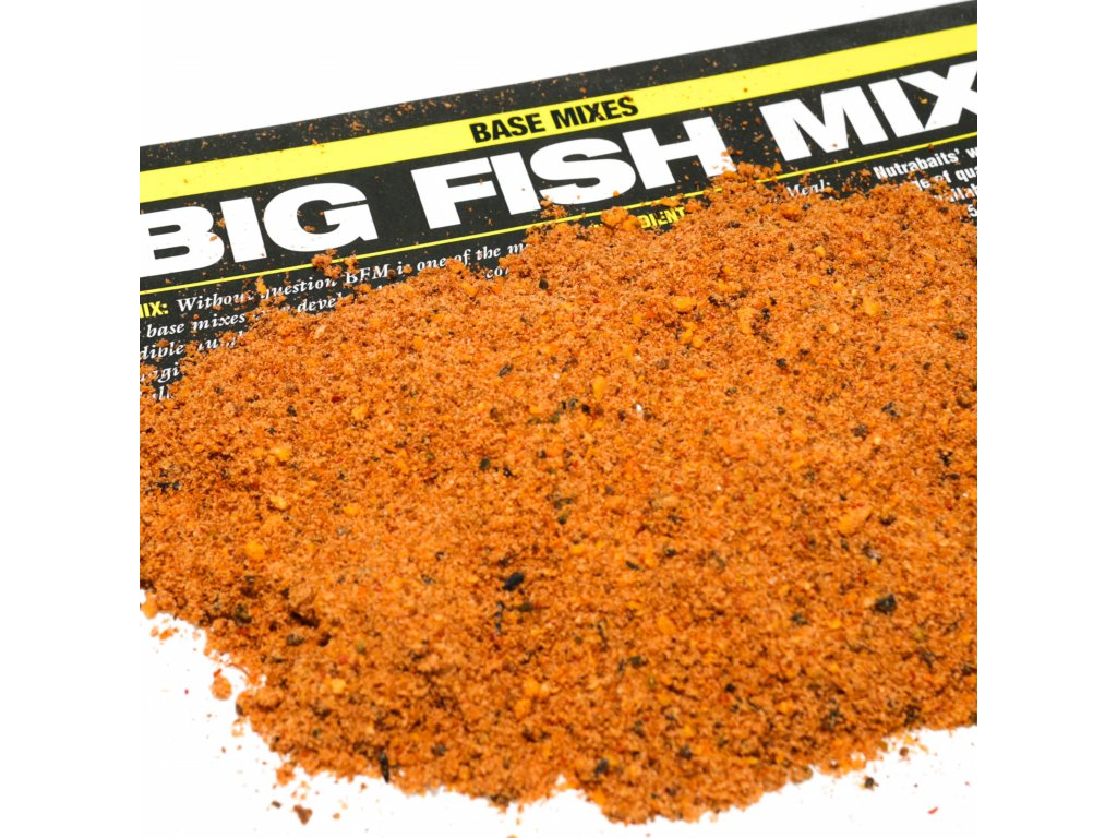 Nutrabaits boilie mixy - Big Fish Mix 1,5kg  + Sleva 10% za registraci