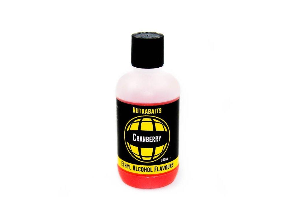 Nutrabaits tekuté esence ethylalkoholové - Cranberry 100ml  + Sleva 10% za registraci