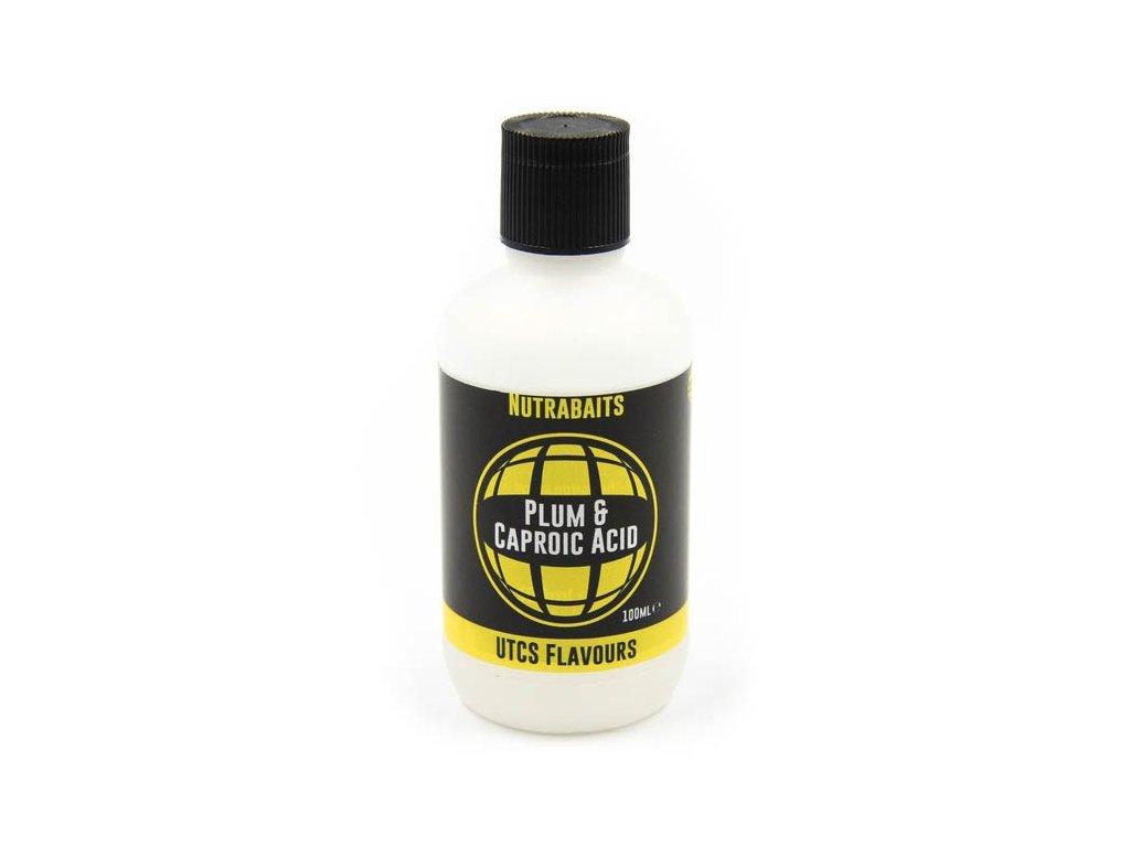 Nutrabaits tekuté esence special - Plum & Caproic Acid 100ml  + Sleva 10% za registraci