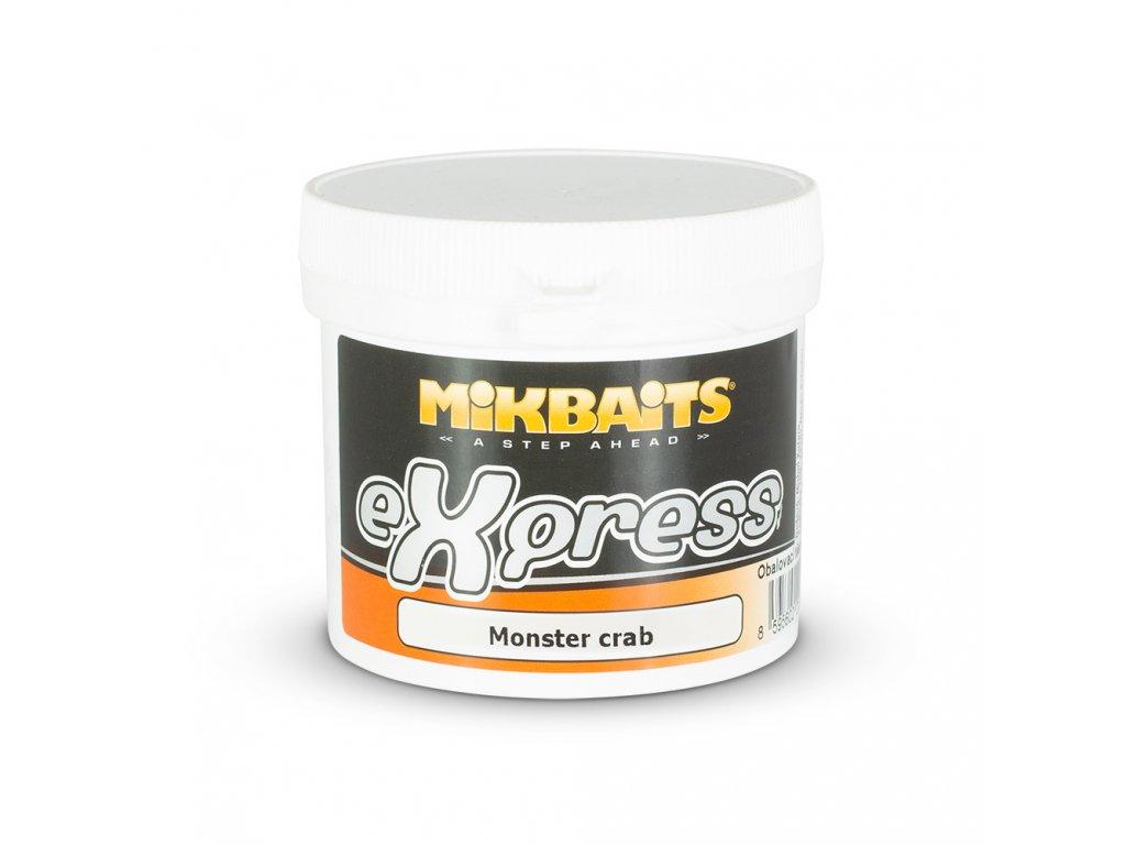 Mikbaits eXpress těsto 200g - Monster crab  + Sleva 10% za registraci