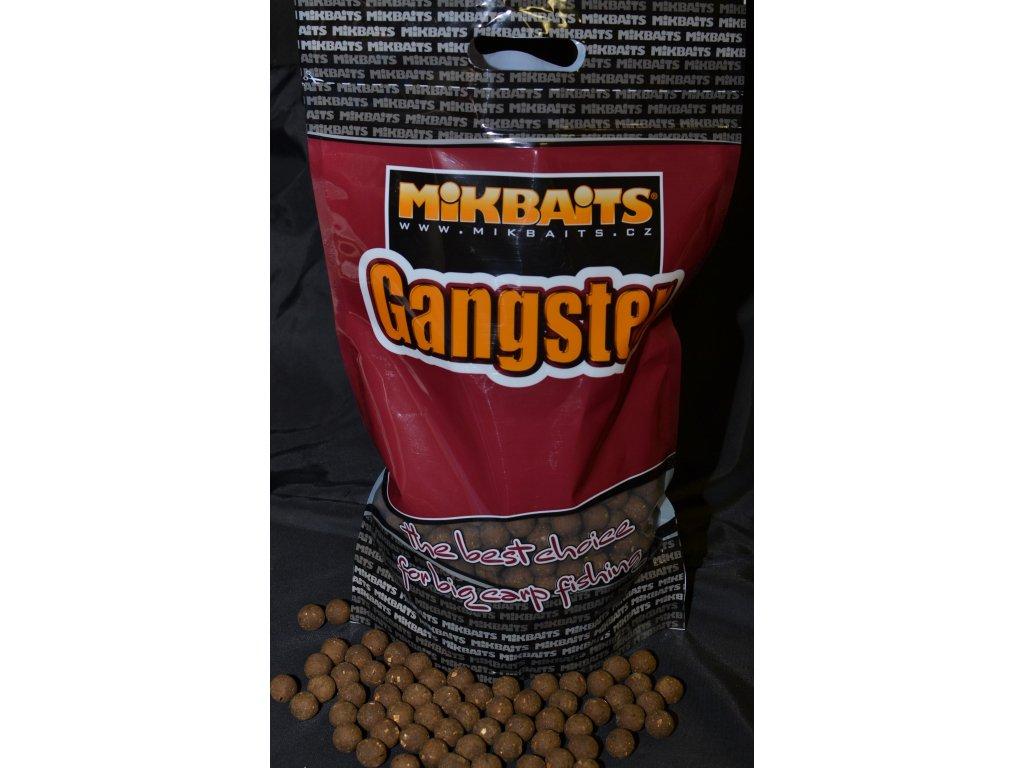 Mikbaits big pack - Trvanlivé boilie 20kg Gangster G4 Squid Octopus 20mm  + Sleva 10% za registraci + ZDARMA Zfish PVA Punčocha Mesh Tube 35mm - 7m