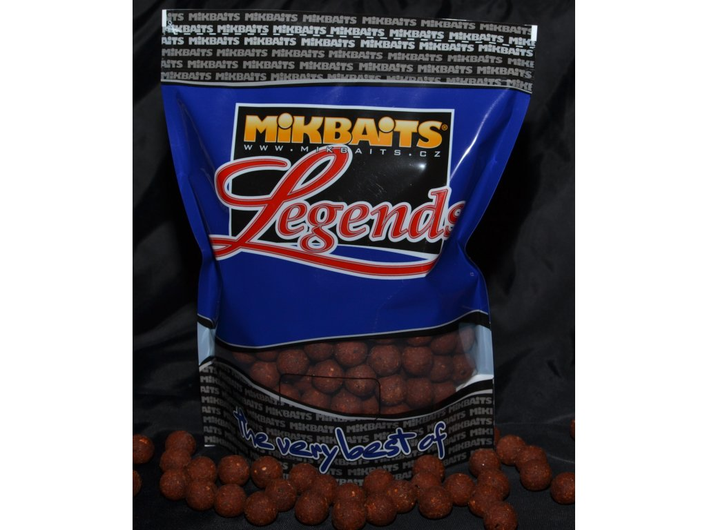 Mikbaits big pack - Trvanlivé boilie 20kg BigMiKs + BigS Oliheň Javor 24mm  + Sleva 10% za registraci + ZDARMA Zfish PVA Punčocha Mesh Tube 35mm - 7m