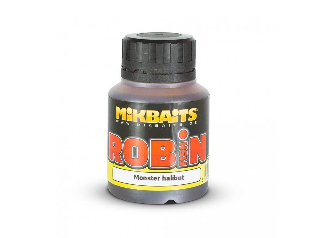 Mikbaits Robin Fish dip 125ml - Monster halibut  + Sleva 10% za registraci