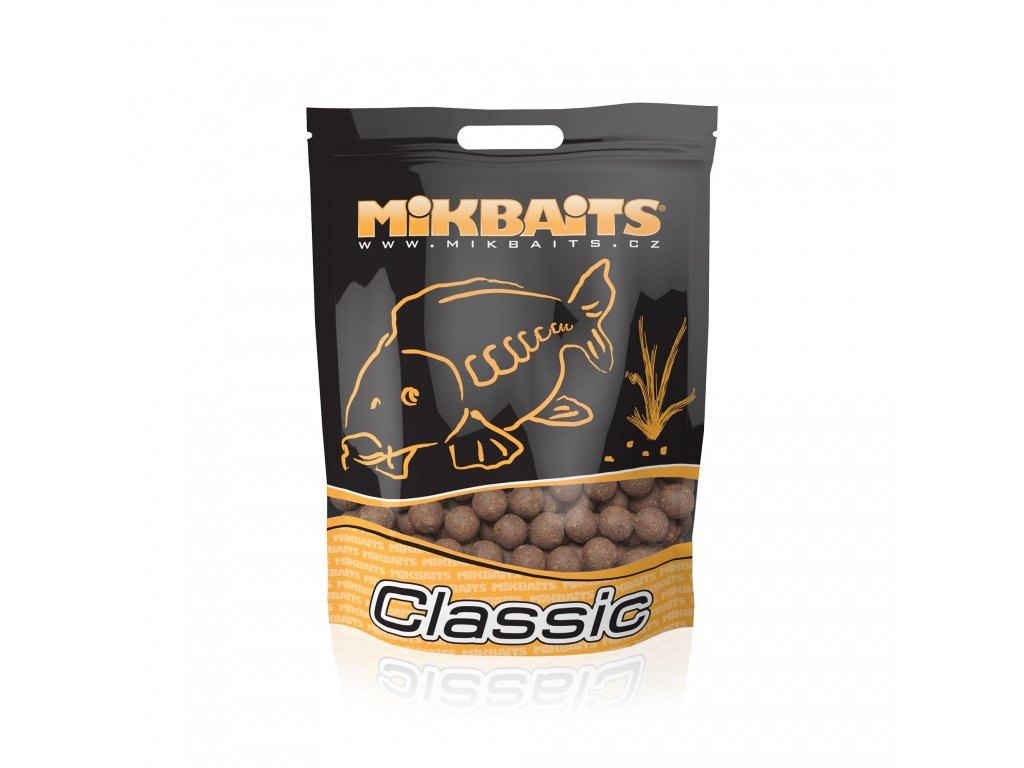 Mikbaits big pack - Trvanlivé X-Class boilie 20kg Krill Patentka 20mm  + Sleva 10% za registraci + ZDARMA kaprové háčky