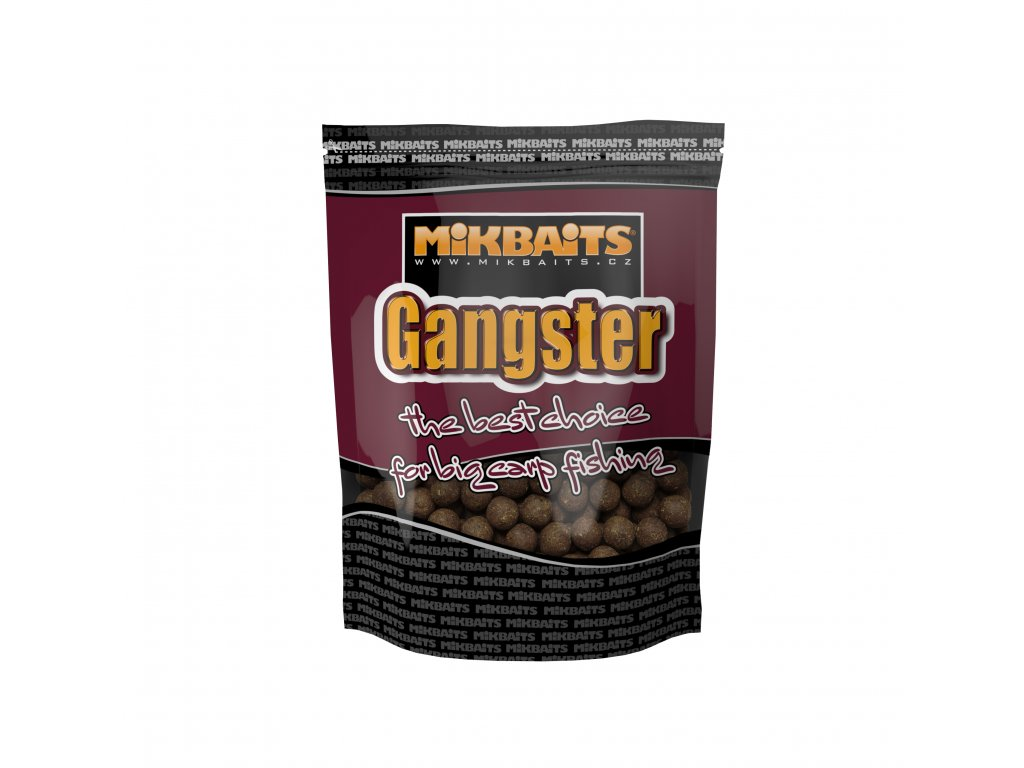 Mikbaits Gangster boilie 1kg - G4 Squid Octopus 24mm  + Sleva 10% za registraci