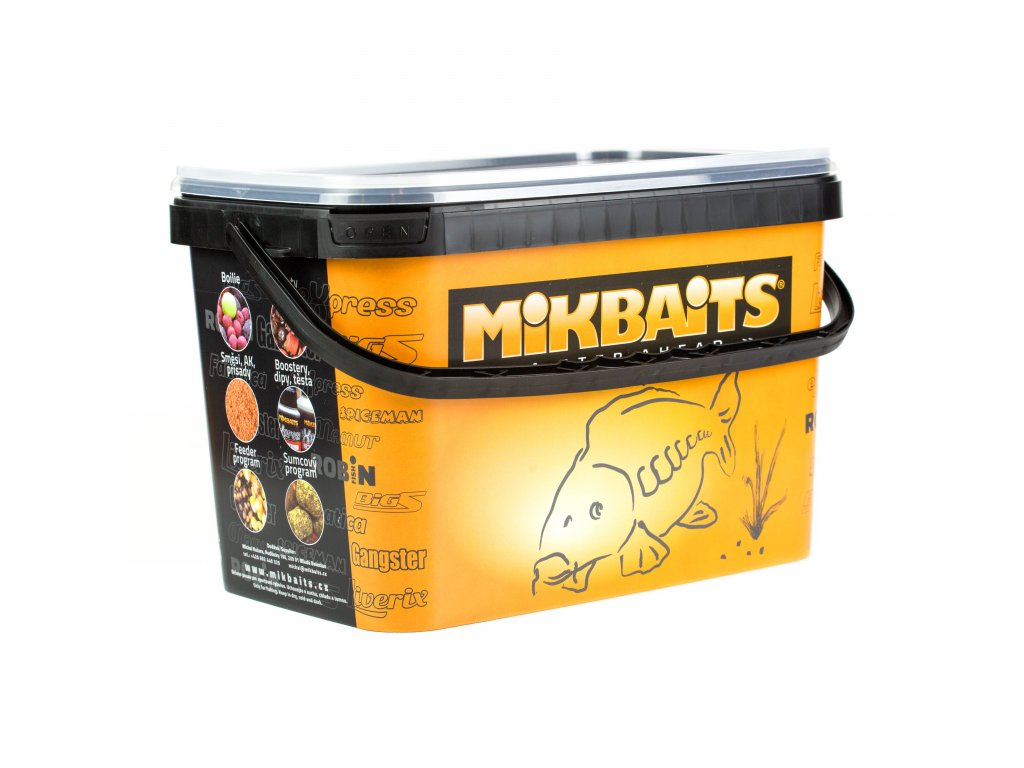 Mikbaits Gangster boilie v soli 2,5kg - G2 Krab Ančovička Asa 20mm  + Sleva 10% za registraci + ZDARMA kaprové háčky