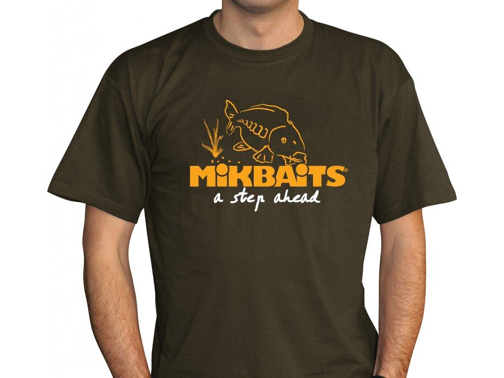 Mikbaits oblečení - Tričko Fans team zelené  + Sleva 10% za registraci