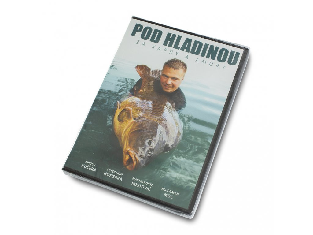 Mikbaits DVD, knihy - DVD Pod vodou za kapry a amury  + Sleva 10% za registraci