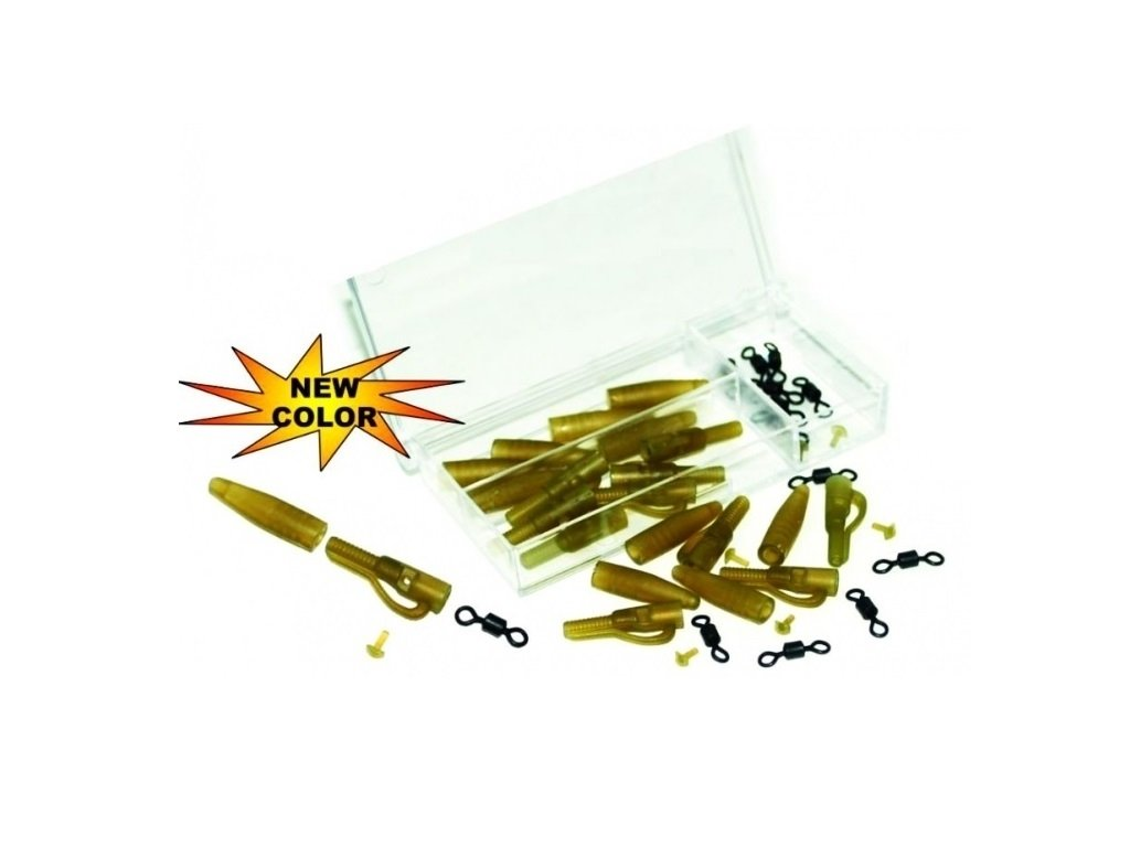 Extra Carp Lead Clip Extra Box With Rolling Swivel  + Sleva 10% za registraci