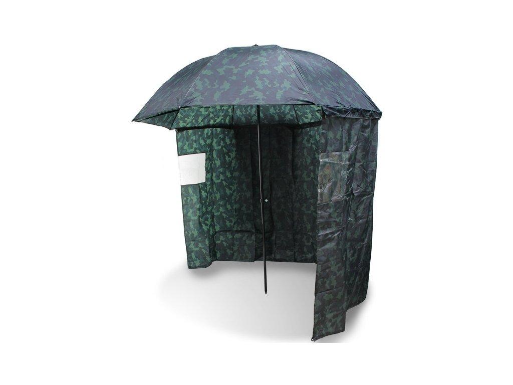 NGT Deštník s bočnicí kamuflážní 2,20m  + Sleva 10% za registraci