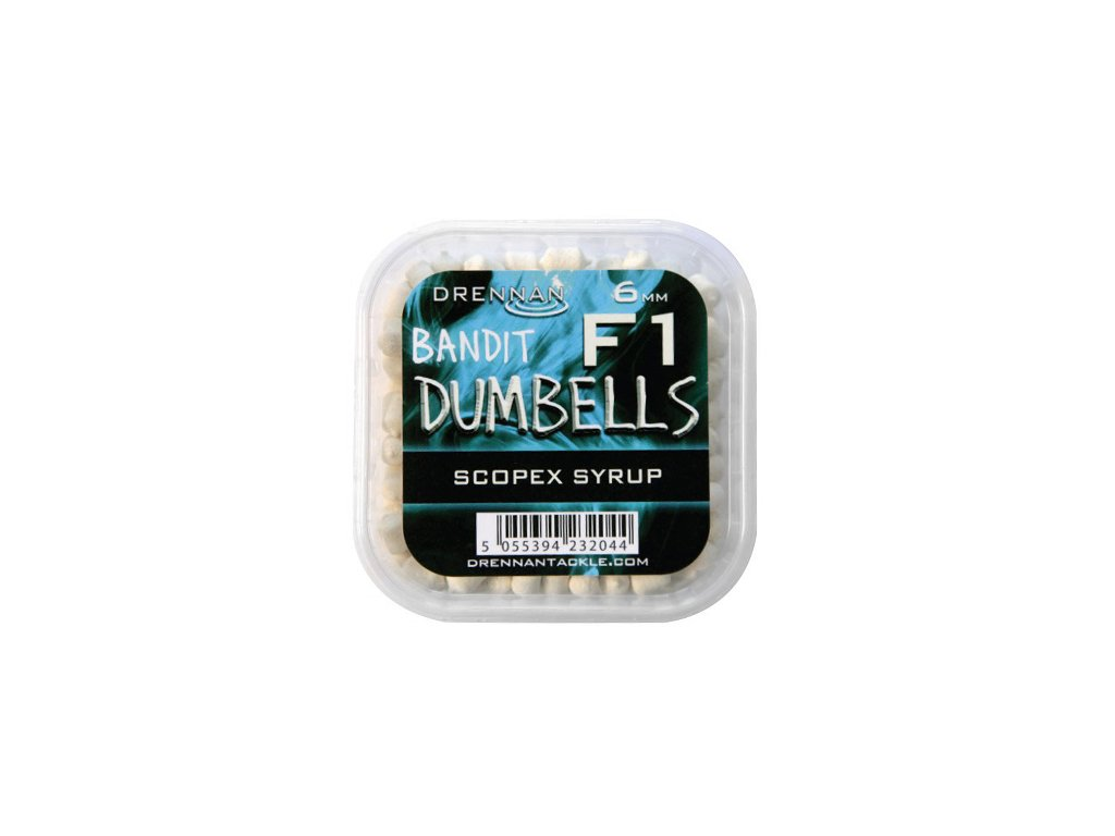 Drennan nástrahy F1 Dumbells 6mm Scopex Syrup  + Sleva 10% za registraci
