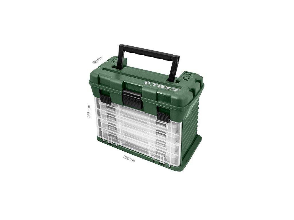 Krabice Delphin TBX MegaCase Clip  + Sleva 10% za registraci