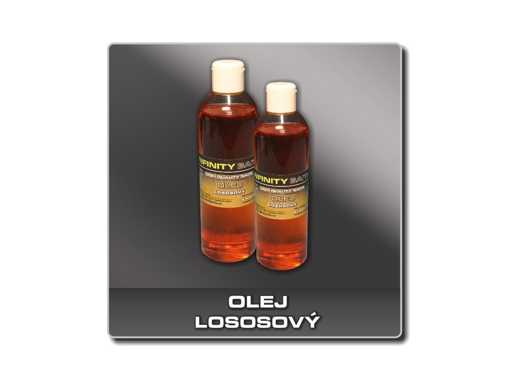 Infinity Baits Lososový olej  + Sleva 10% za registraci