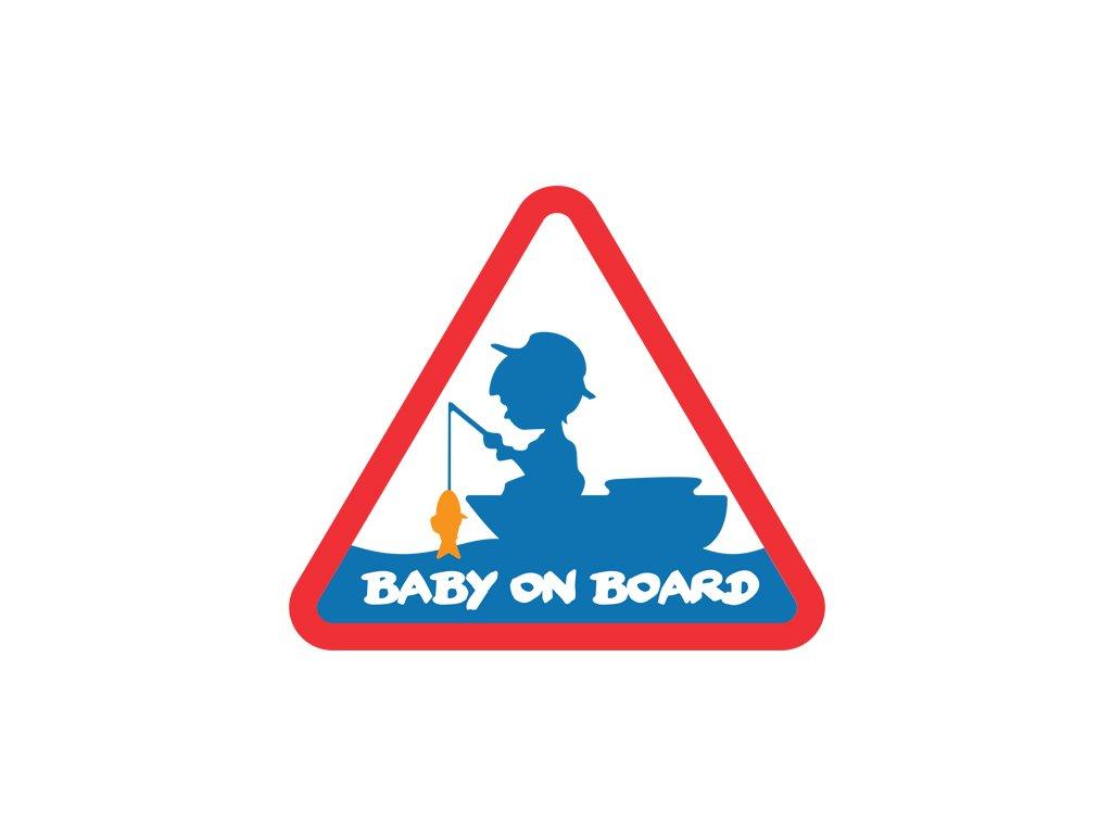 Nálepka BABY ON BOARD  + Sleva 10% za registraci