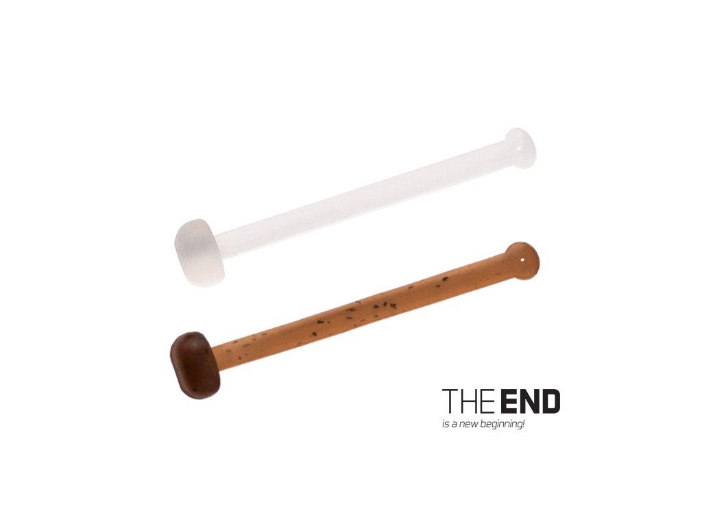 Elastická zarážka THE END / 36ks