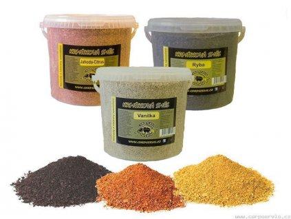 Krmítková směs - kbelík - 5,2 l/vanilka (žlutá)  + Sleva 10% za registraci
