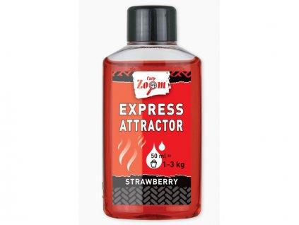 Carp Zoom Express Attractor - 50 ml/Jahoda  + Sleva 10% za registraci