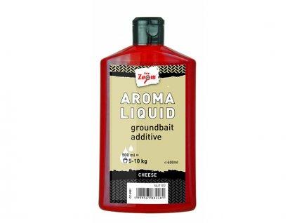 Carp Zoom Aroma Liquid - 500 ml/Jahoda  + Sleva 10% za registraci
