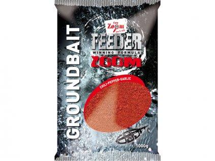 Feeder Zoom - 1 kg/Čili - Pepř - Česnek