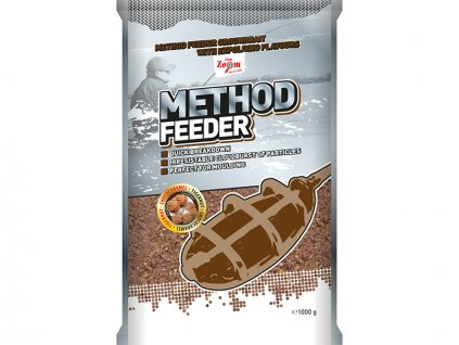 Method Feeder Groundbaits - 1 kg/Tygří ořech - čokokaramel