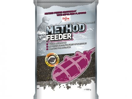 Carp Zoom Method Feeder Groundbaits - 1 kg/Ryba - Halibut  + Sleva 10% za registraci