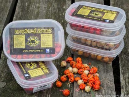 Rohlíkové boilies cherry - 40 g  + Sleva 10% za registraci
