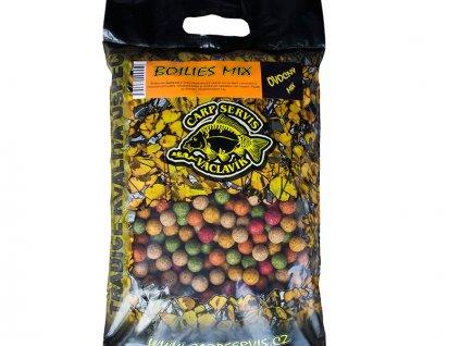 Boilies Mix 3 kg/ /Masový mix  + Sleva 10% za registraci