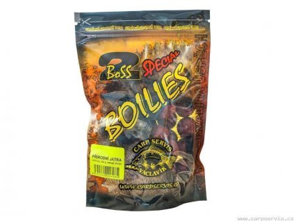 Boilies Boss2 SPECIÁL Rozpálená švestka - 1 kg/20 mm  + Sleva 10% za registraci