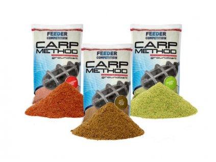 Carp Zoom Carp Method - 1 kg/Pálivé koření-ryba  + Sleva 10% za registraci
