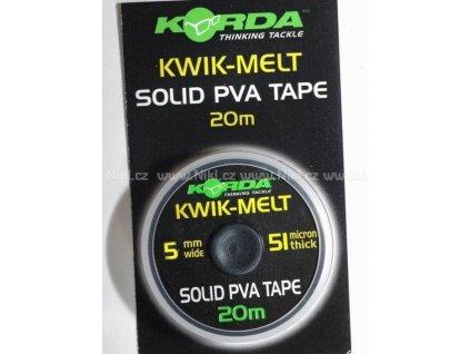 Korda PVA páska - Kwik-Melt 2 x 20m PVA Tape  + Sleva 10% za registraci