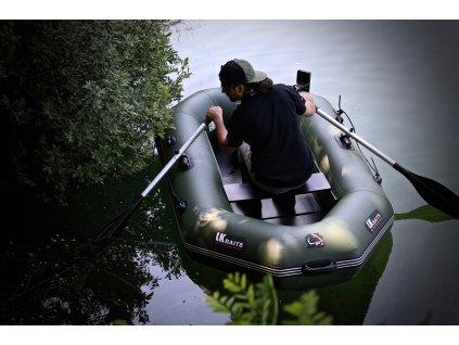 LK Baits člun Top Khaki Sonar 190  + Sleva 10% za registraci + ZDARMA Digitální váha Delphin ULTRA