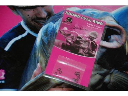 LK Baits Round Oval Ring - size 4,5mm  + Sleva 10% za registraci